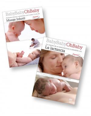 La lactancia y Masaje Infantil DVD Combo (Spanish)