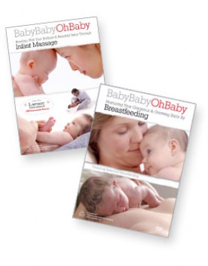 Breastfeeding and Infant Massage DVD Combo